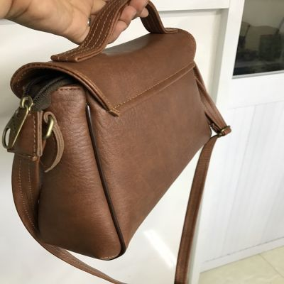 Synthethic leather bag